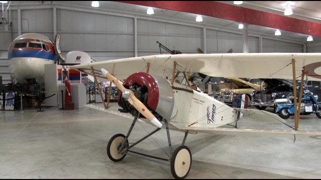 Nieuport 11 Replica Shines at Iowa Museum