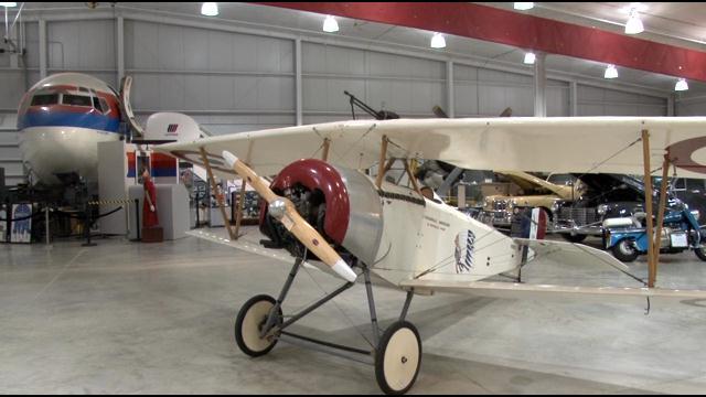 Nieuport 11 Replica Shines at Iowa Museum