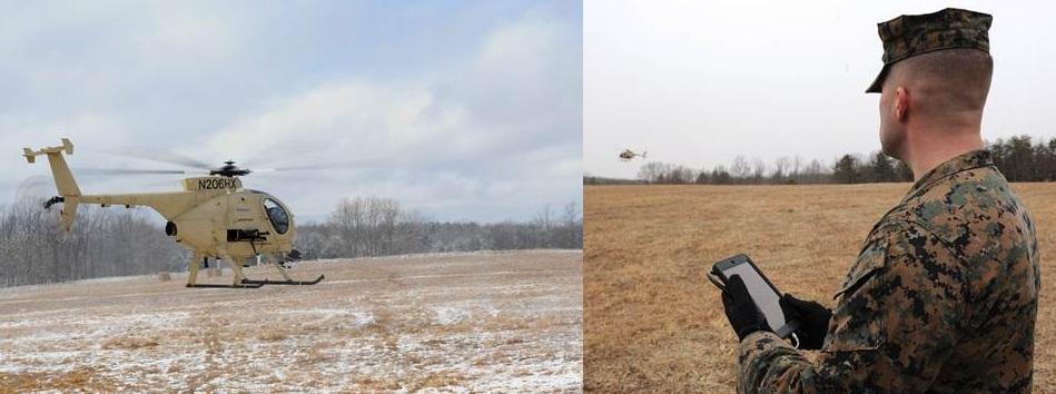 Helicopters Conduct Autonomous Landings