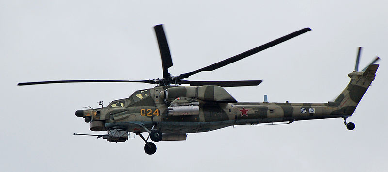 Russia Begins Baltic Border Helicopter Flights