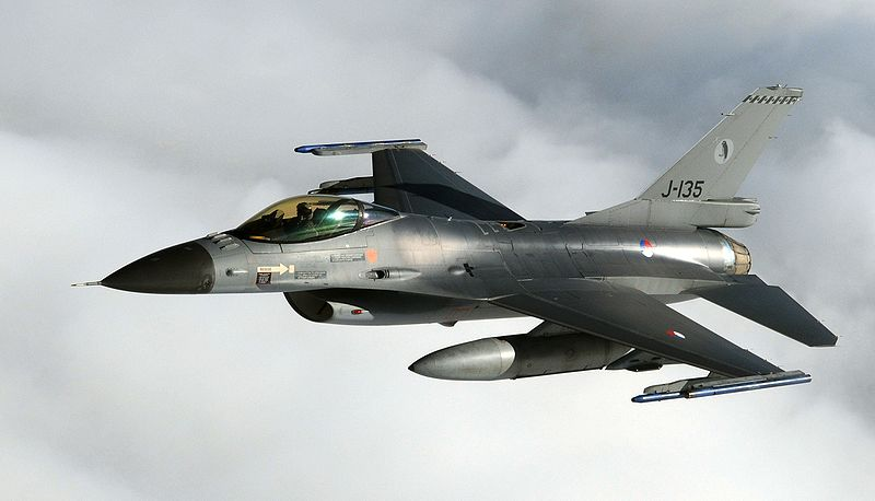 Dutch F-16s Intercept Russian Bombers