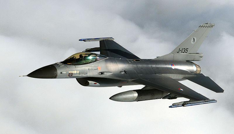 Dutch F-16s Intercept Russian Bombers