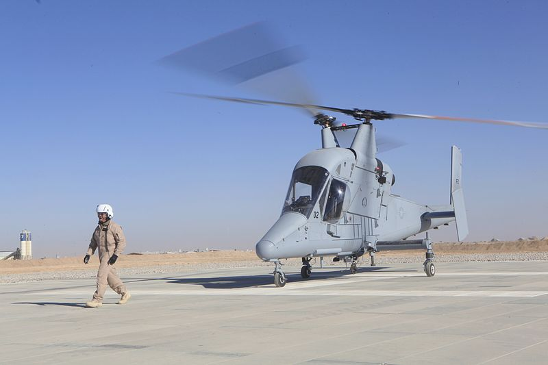 USMC Uses Tablet to Land Helicopters