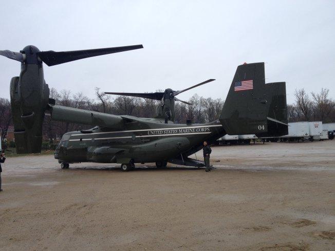 Inside the Presidential Osprey