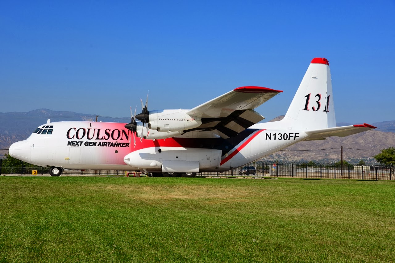 C-130 Fire Tanker Moves to Reno