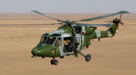 UK Military Helicopter Crashes, Five Die
