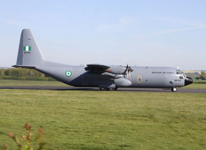 Nigerian C-130 Finally Takes Flight