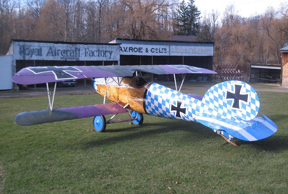 WWI Albatros Replica to Fly Again