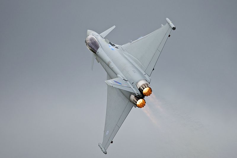 Flying the RAF Typhoon Fighter