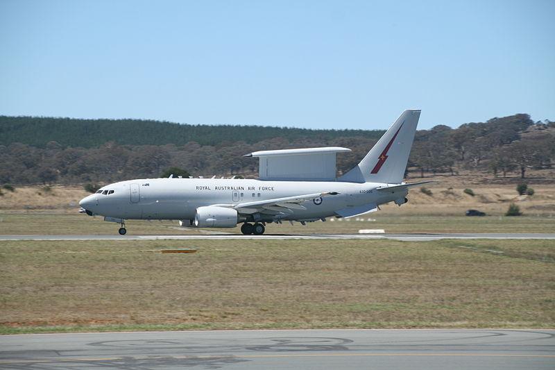 Aussie Wedgetail Part of Flight 370 Search