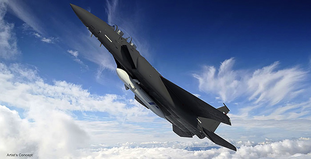 F-15s to Launch Small Satellites