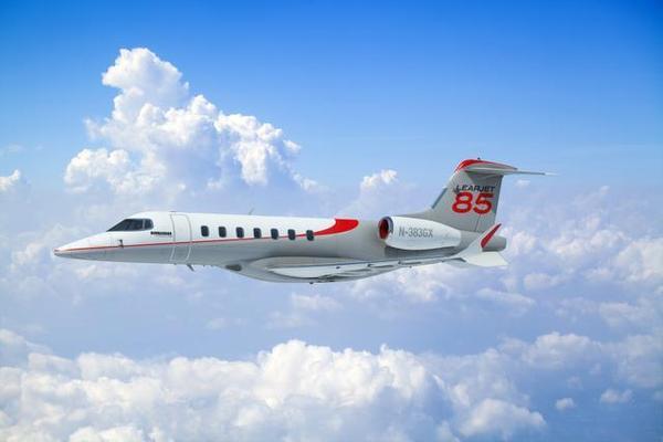 Learjet 85 Finally Makes First Flight