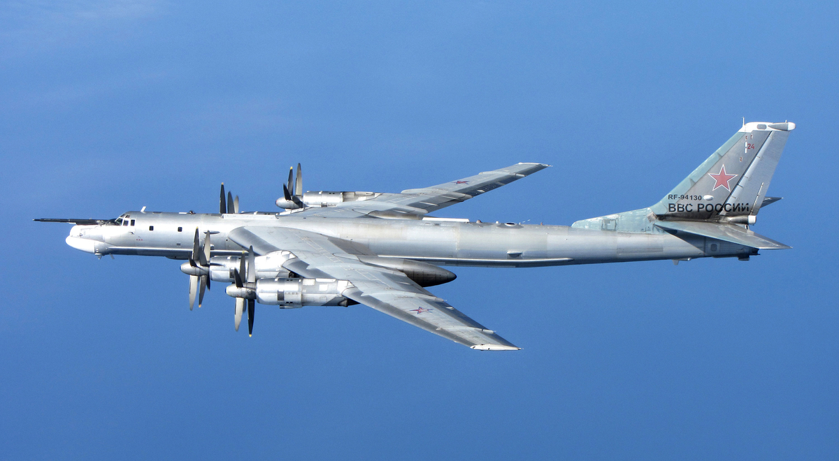 Photos: RAF Intercepts Russian Bombers