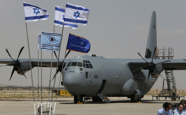 Israel Accepts its First C-130J