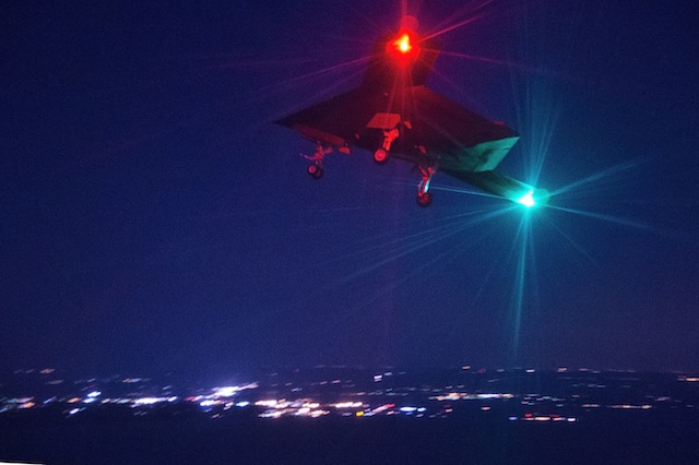 X-47B Makes Night Flight, Wins Award