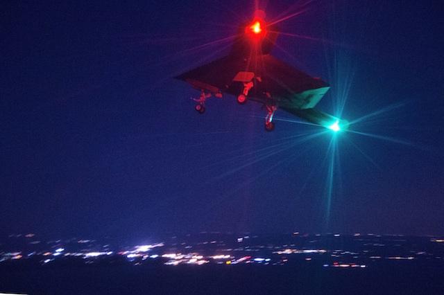 X-47B Makes Night Flight, Wins Award