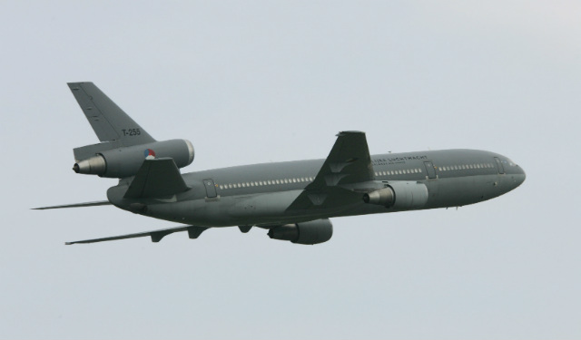 Dutch Air Force Scraps DC-10