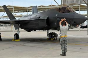 F-35 Flies First Training Sortie at Luke AFB