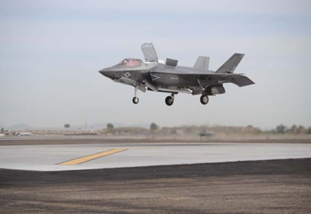 F-35B Makes East Coast Debuts at Show