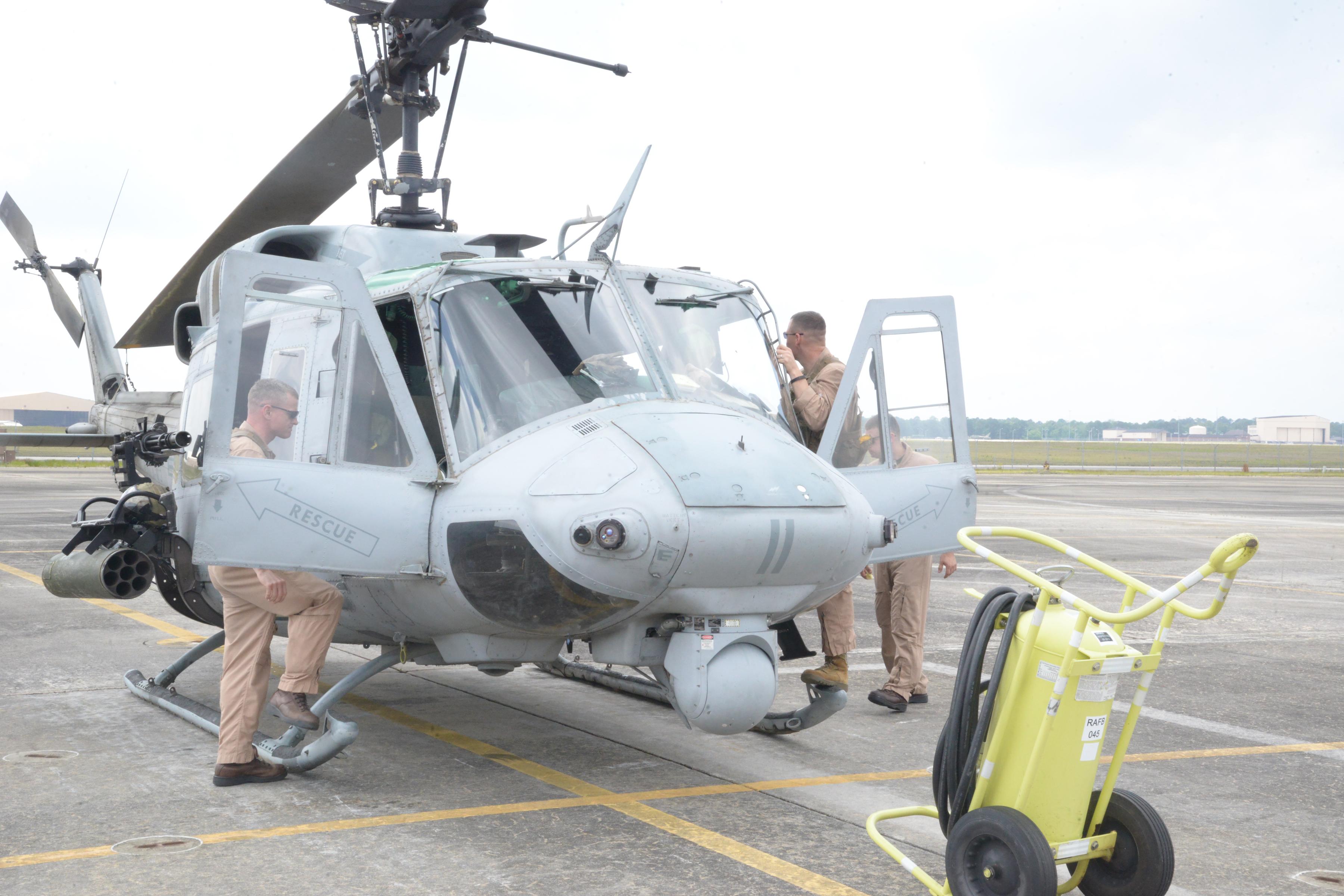 USMC Flying Last N Model Hueys