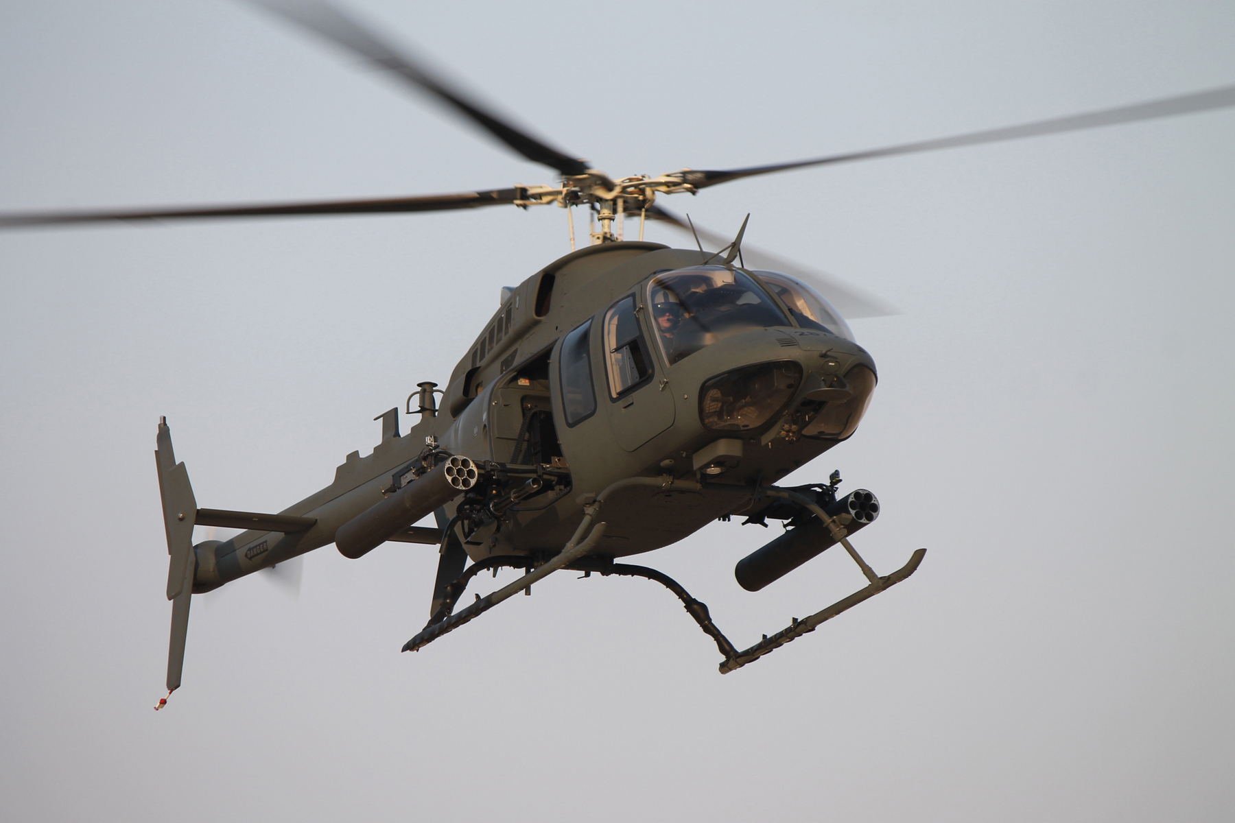 Bell 407 Becomes Light Attack Platform