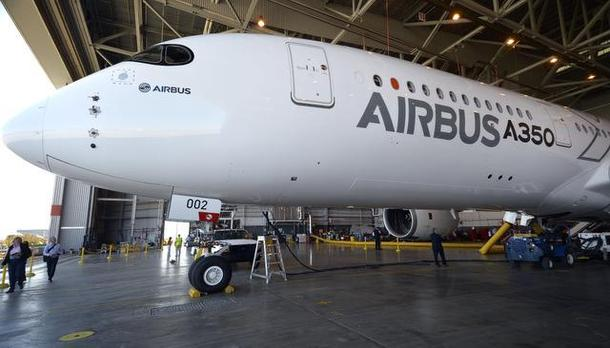 American Airlines Host Airbus Test Jet