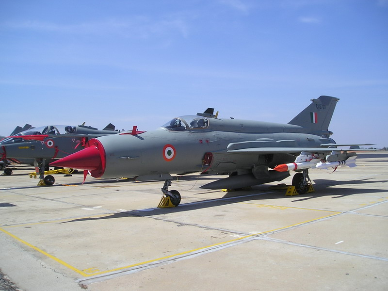 Indian Air Force MiG-21 Crashes