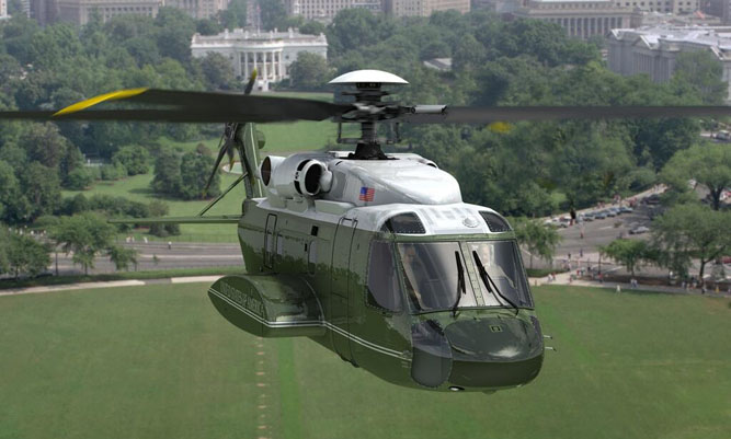 Sikorsky S-92 Named Presidential Helicopter