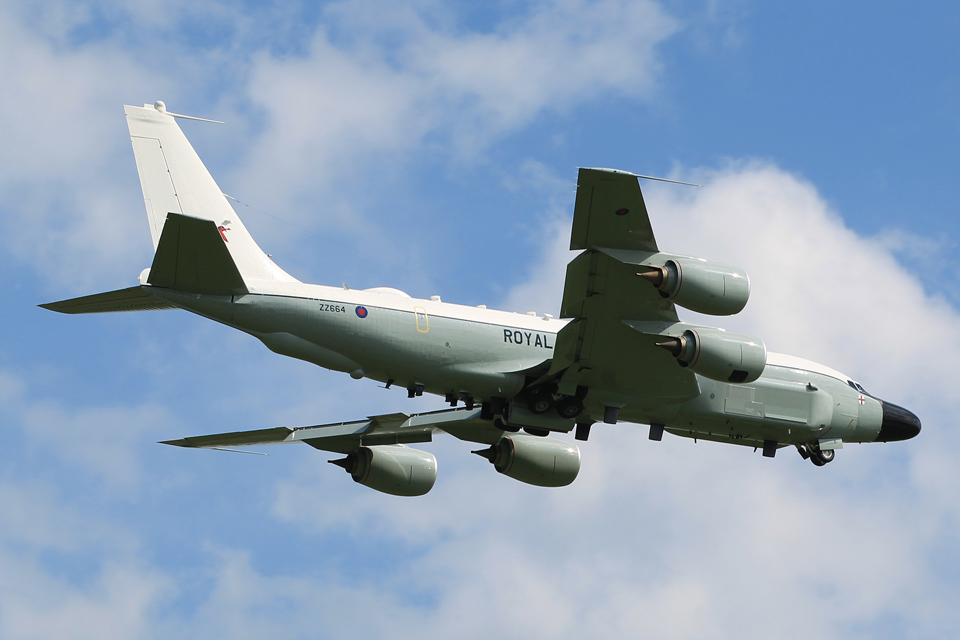 RAF Crews Take Over Rivet Joint Flights