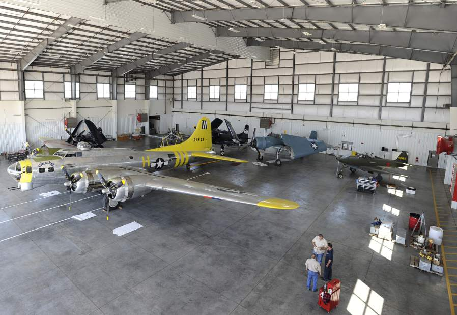 Oregon Aviation Museum on the Move