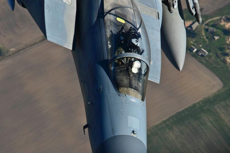 USAF Hands Over Baltic Policing Duties