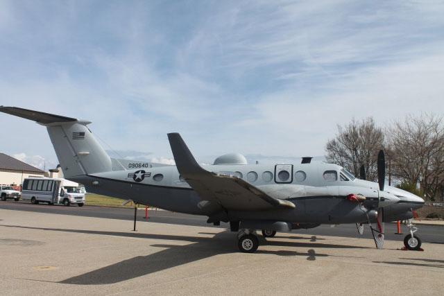 USAF MC-12Ws Aid in Nigerian Search