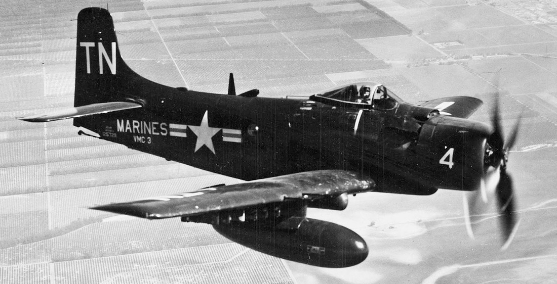 Skyraider Wreck Discovered in Florida