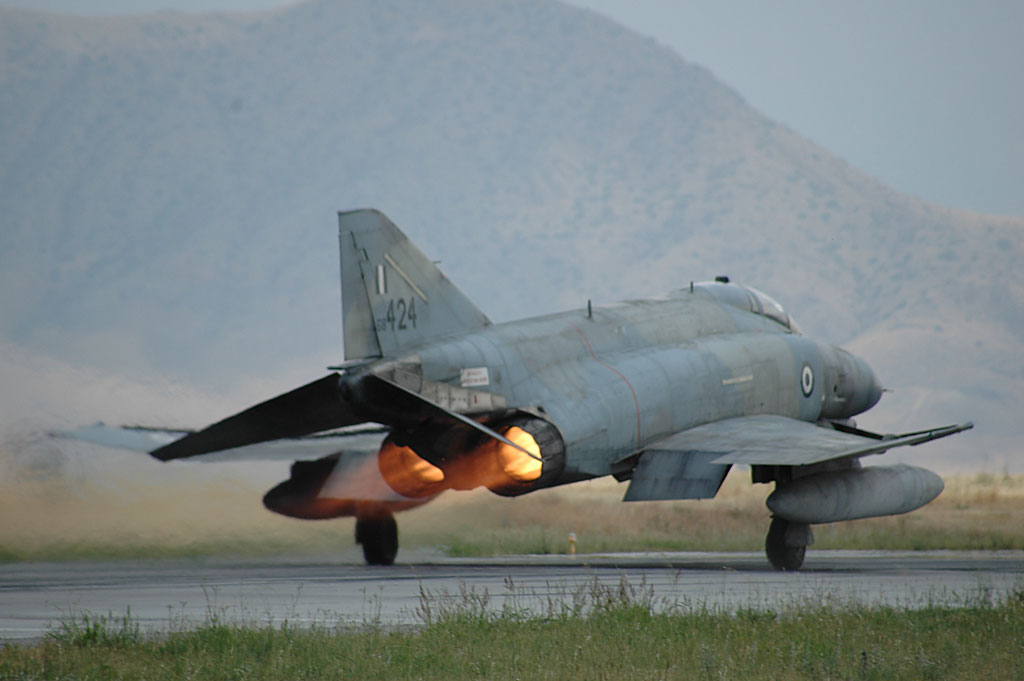 Greek F-4s Return to Air Show Duty