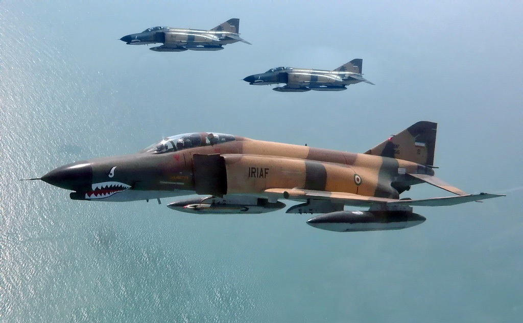 Iranian F-4 Crashes, Crew Lost