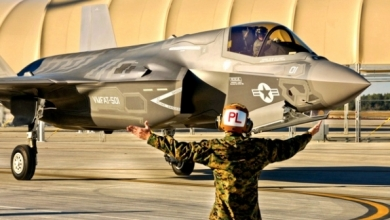 British F-35B Not Ready for Crossing