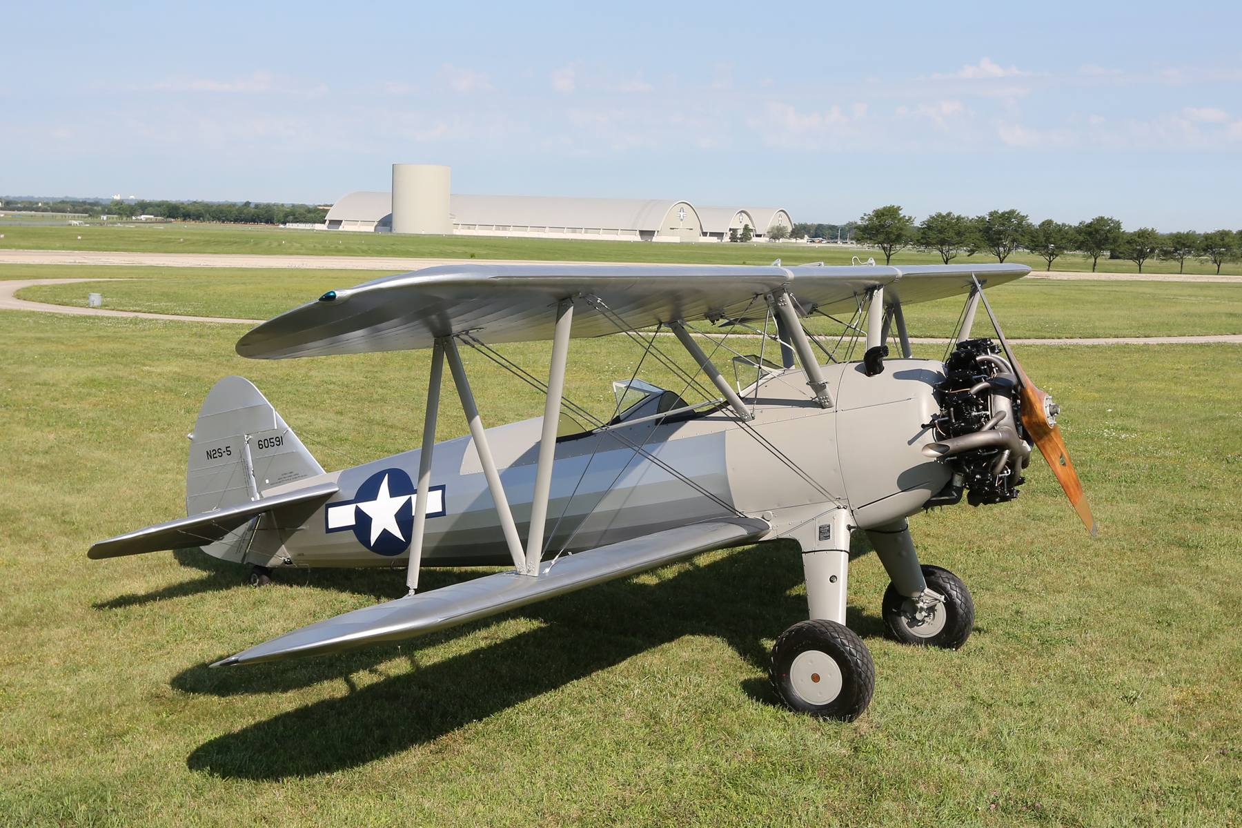 PT-13D Trainer Goes on Display in Ohio