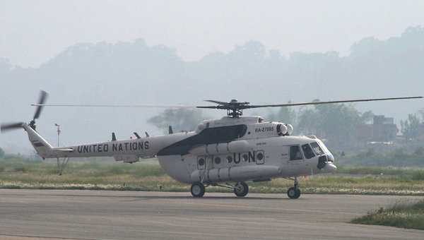 Sudan Rebels Shoot Down UN Helicopter