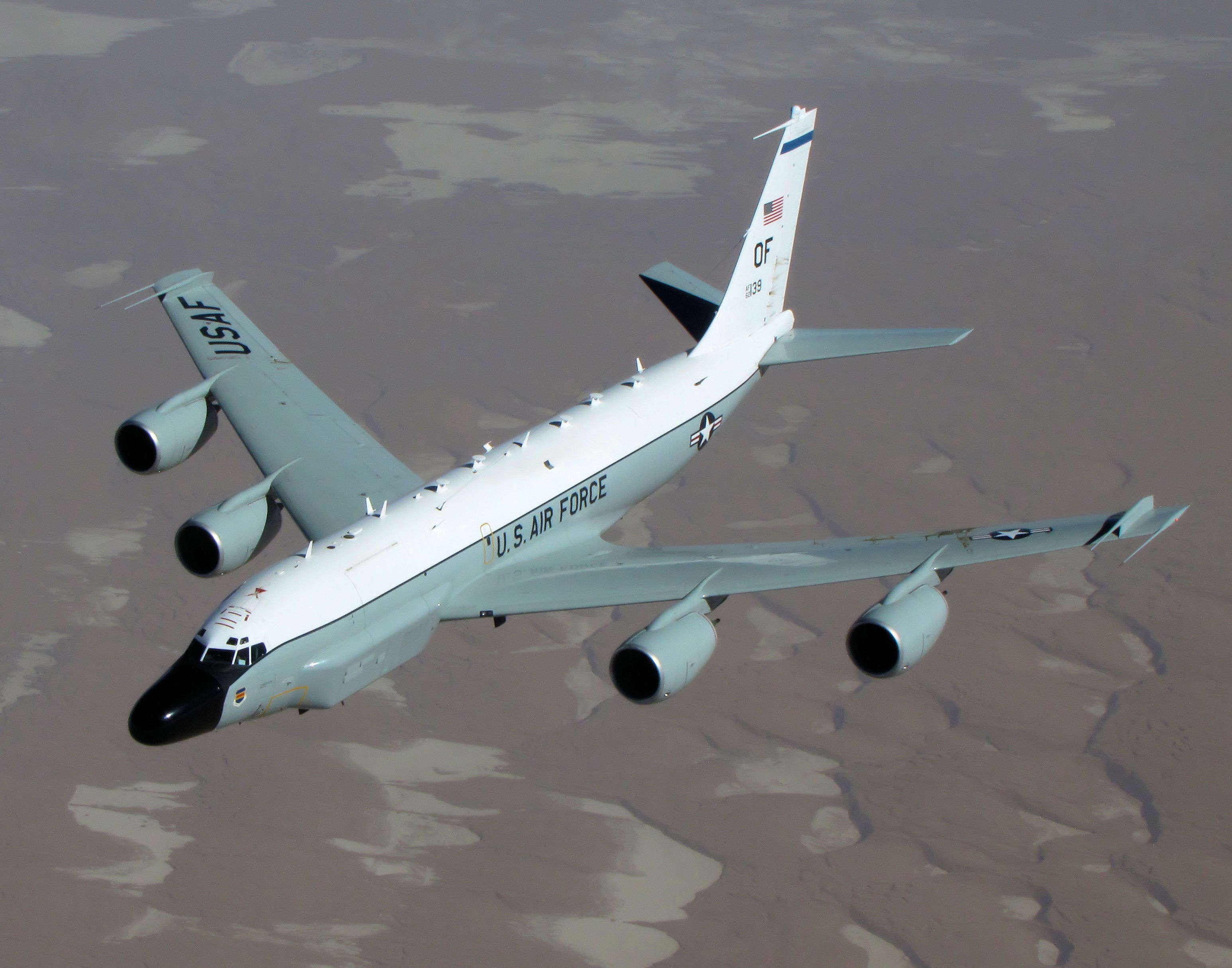 RC-135 Avoids Russian Jet, Flies To Sweden
