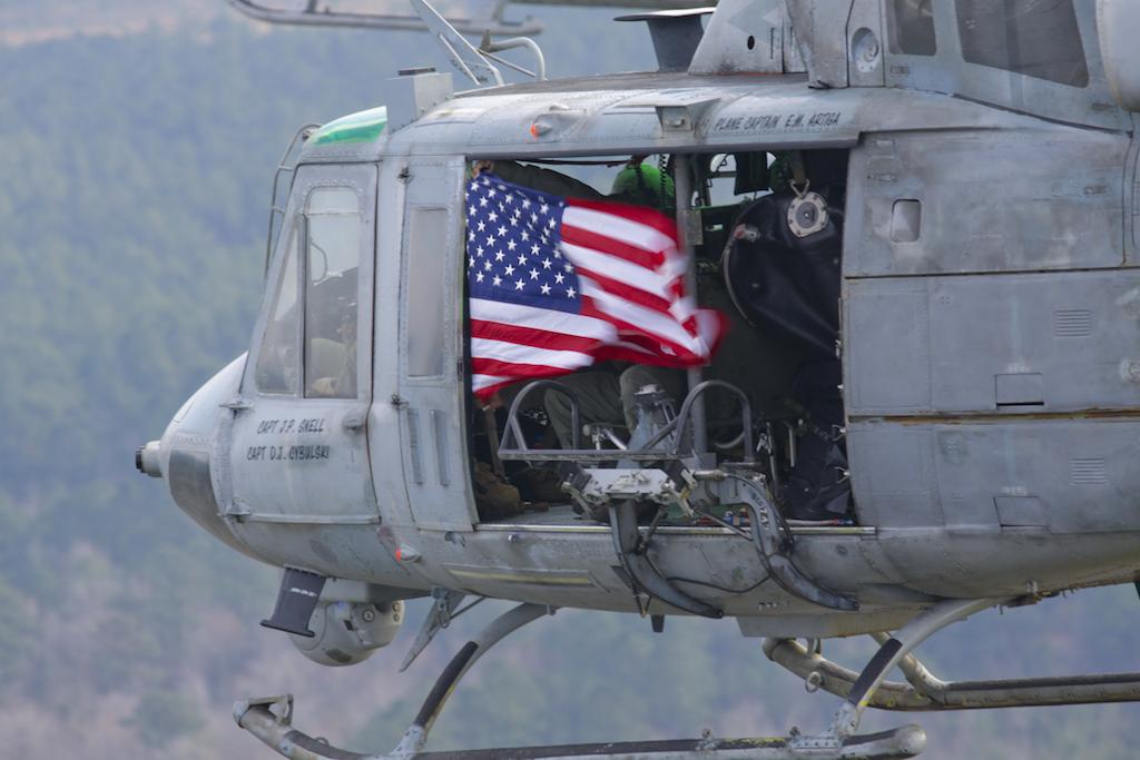 Marines to Retire Huey Novembers