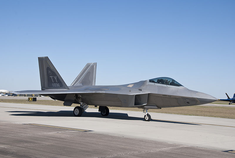 F-22 Completes First Combat Ops Against IS