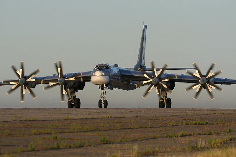 Russian Bombers Practice Attacks on West
