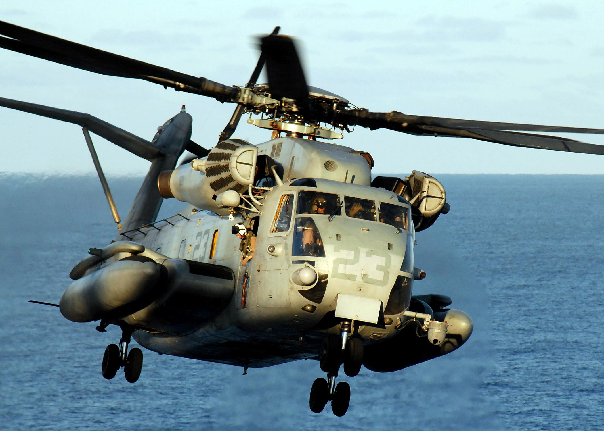 Marines Call Helicopter Escape 'Miracle'