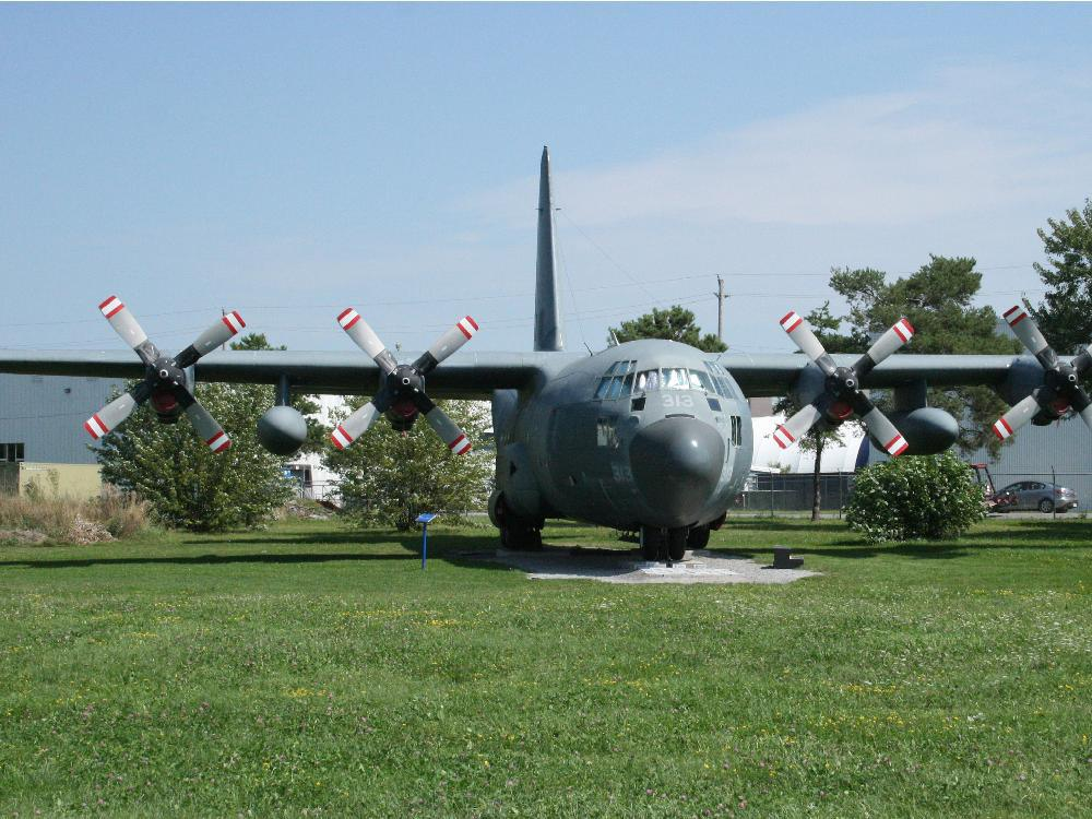 RCAF Raids Museum for Spare Parts