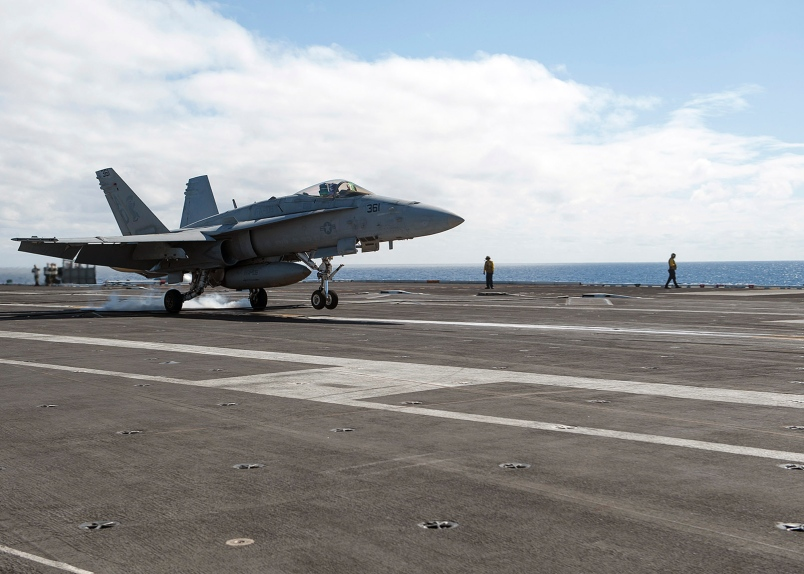 Pilot Missing As Navy Hornets Collide