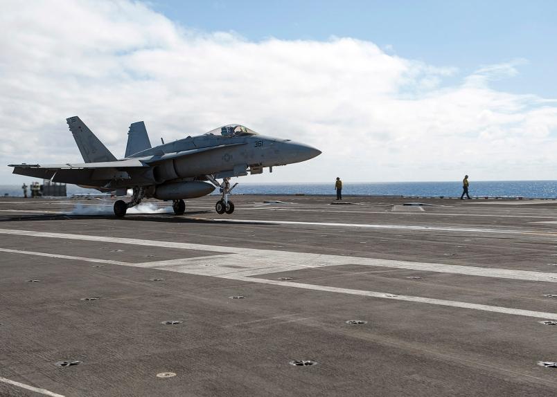 Pilot Missing As Navy Hornets Collide