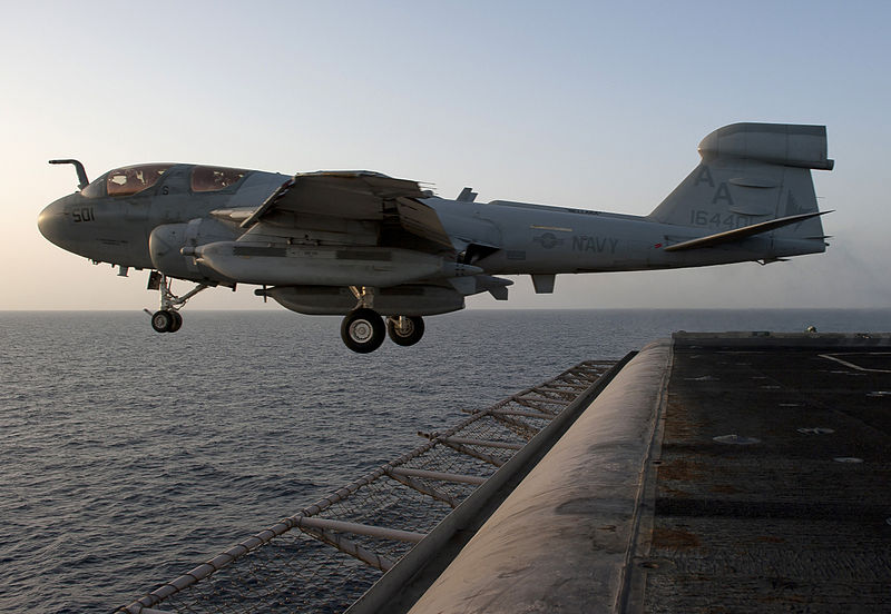 Prowlers Ship Out on Final Deployment