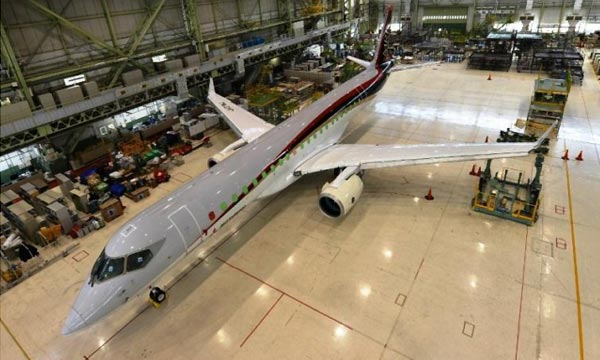 Mitsubishi RJ Set to Debut, Finally