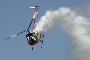 'Otto,' Fireworks Thrill Air Show Crowds