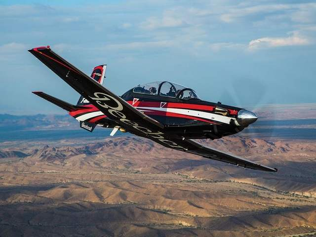Beechraft T-6Cs May Train British Pilots